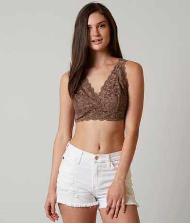 Daytrip Scalloped Lace Bralette