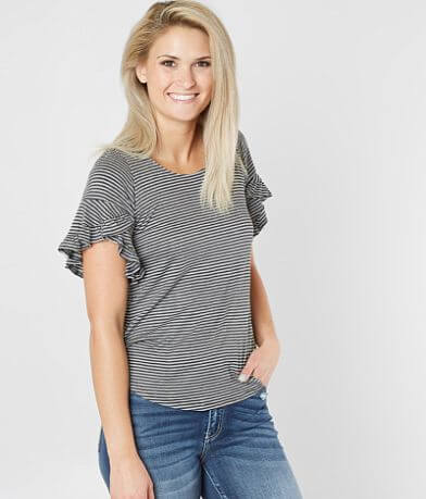 Chance Striped Knit Top