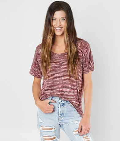 Daytrip Striped Scoop Neck T-Shirt