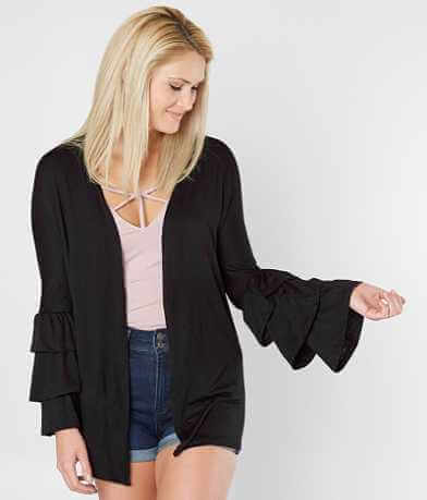 Chance Ruffle Cardigan