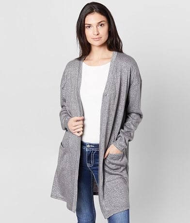 Daytrip Metallic Cardigan Sweater