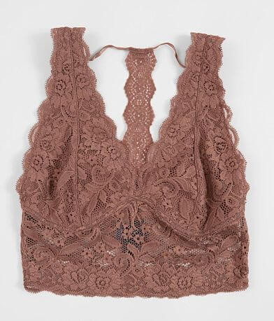 Daytrip V-Neck Midi Lace Bralette