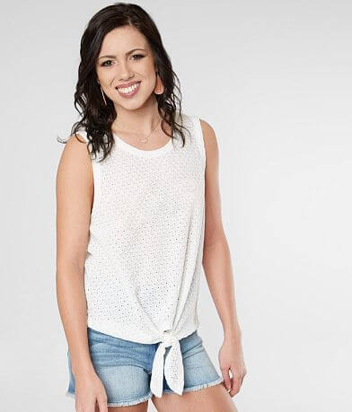 Daytrip Textured Tank Top