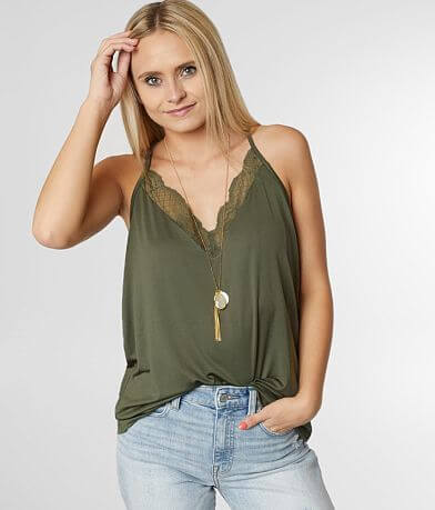 Daytrip Lace V-Neck Top