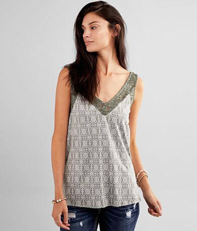Daytrip Medallion Print Tank Top