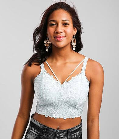 Daytrip Full Coverage Floral Lace Bralette