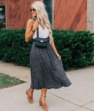 willow & root Overall Midi Skirt