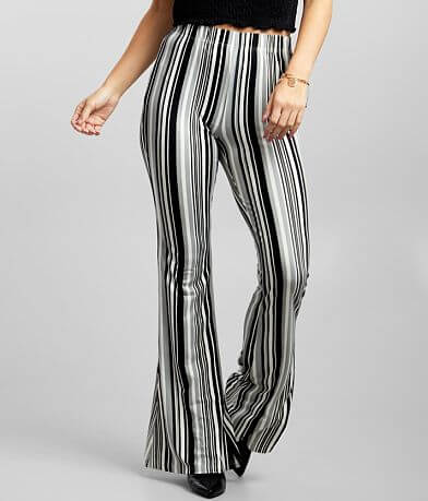 Daytrip Vertical Striped Flare Pant