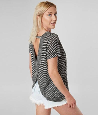 BKE Open Strappy Back Top