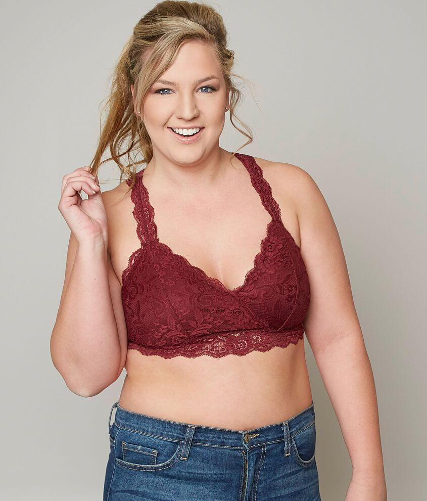 18e579c501603 Daytrip Racer Back Bralette - Plus Size Only - Women s Bandeaus ...
