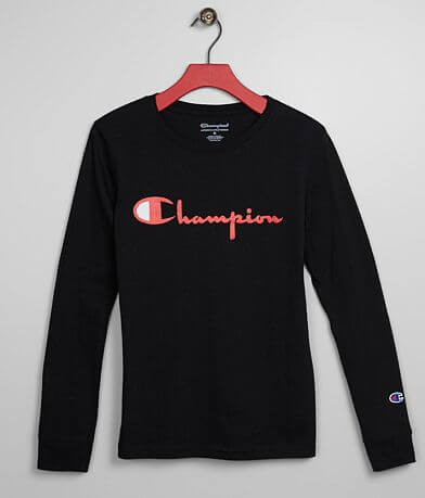Boys - Champion® Heritage Script T-Shirt