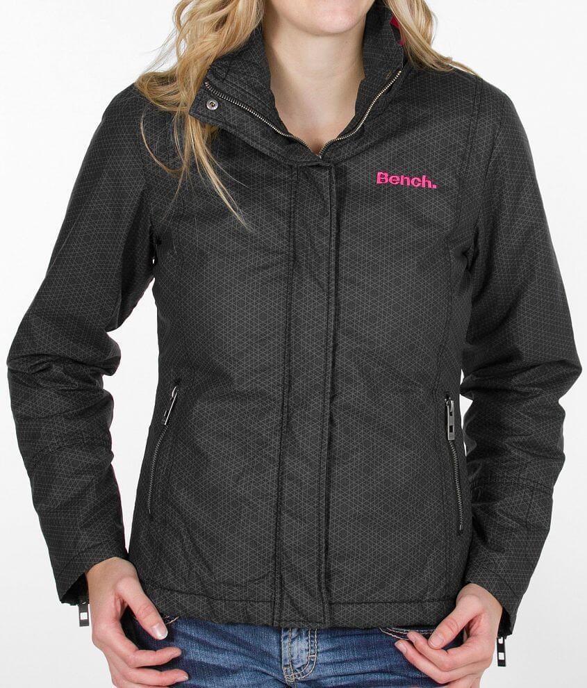 Bench Bbq Jacket Women S Coats Jackets In Black Pink Buckle