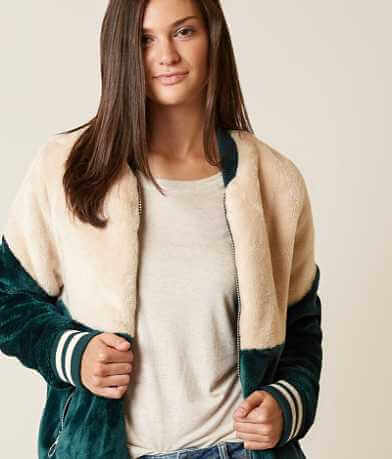 Bench Color Block Bomber Jacket