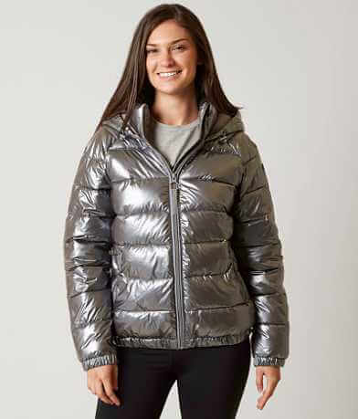 Bench Metallic Puffer Jacket