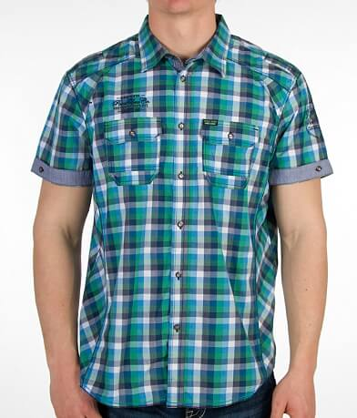 Point Zero Checkered Plaid Shirt