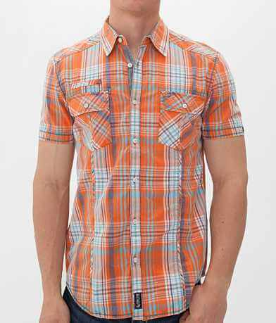 Point Zero Washed Plaid Shirt