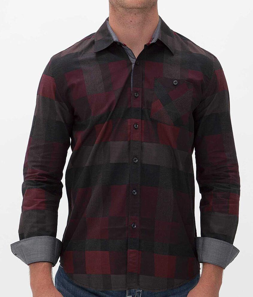 Point Zero Plaid Shirt front view