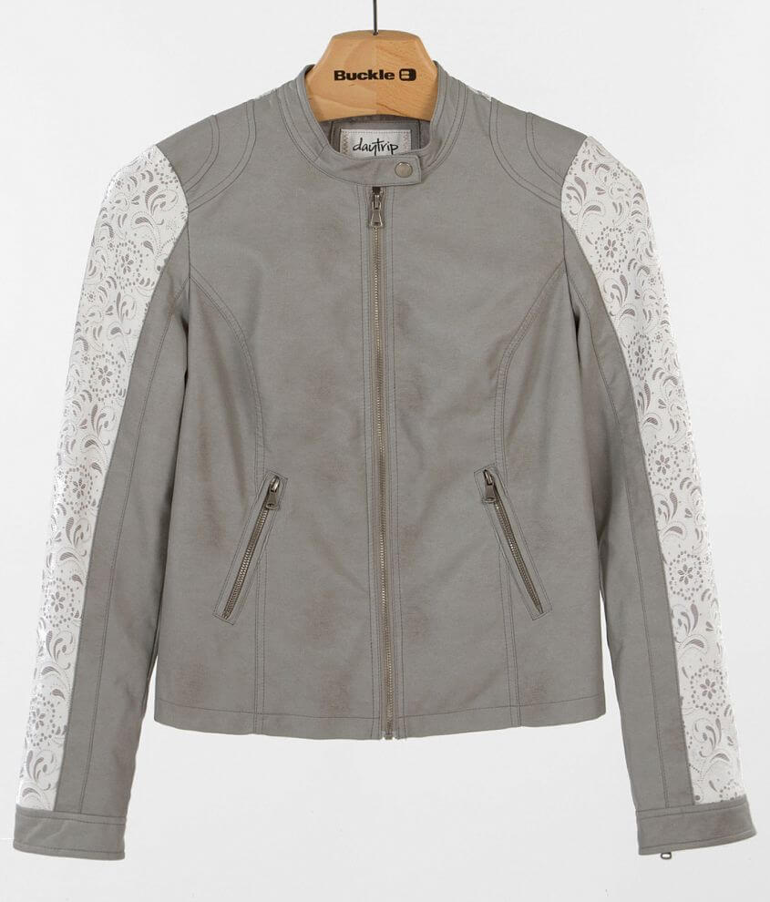 Daytrip Lace Inset Jacket front view