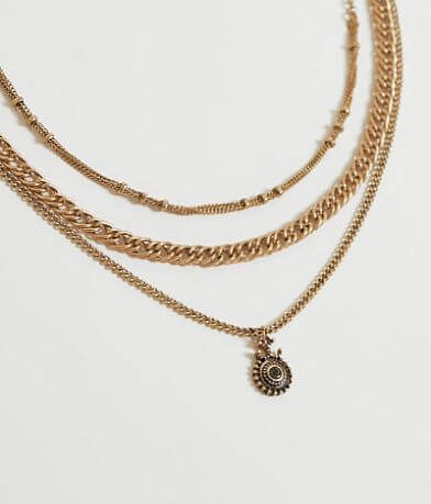 BKE Convertible Tiered Necklace