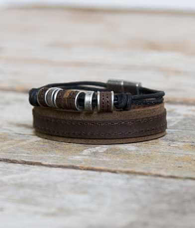 Outpost Makers Oak Bracelet Set