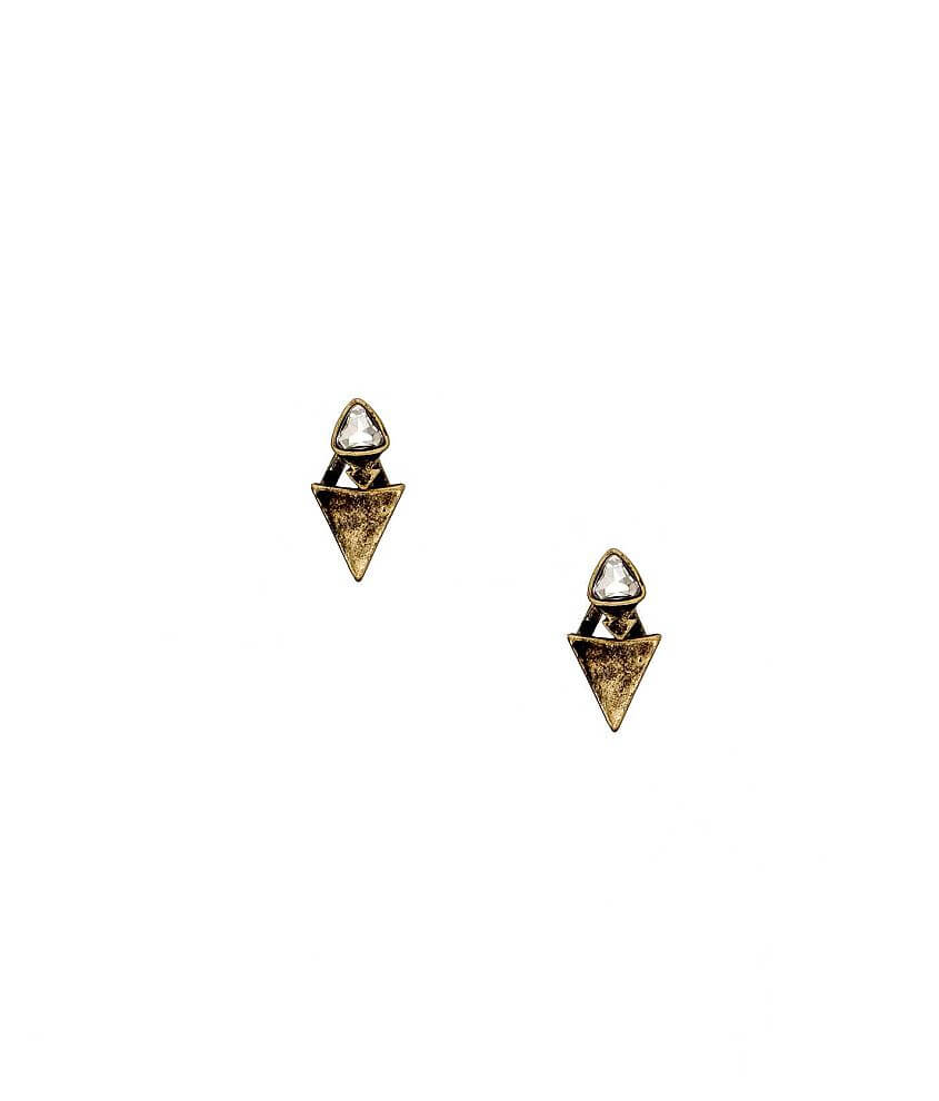 BKE 2-Way Triangle Earring