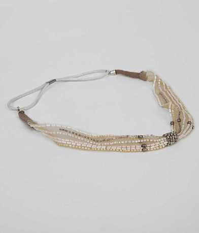 BKE Seed Bead Headband