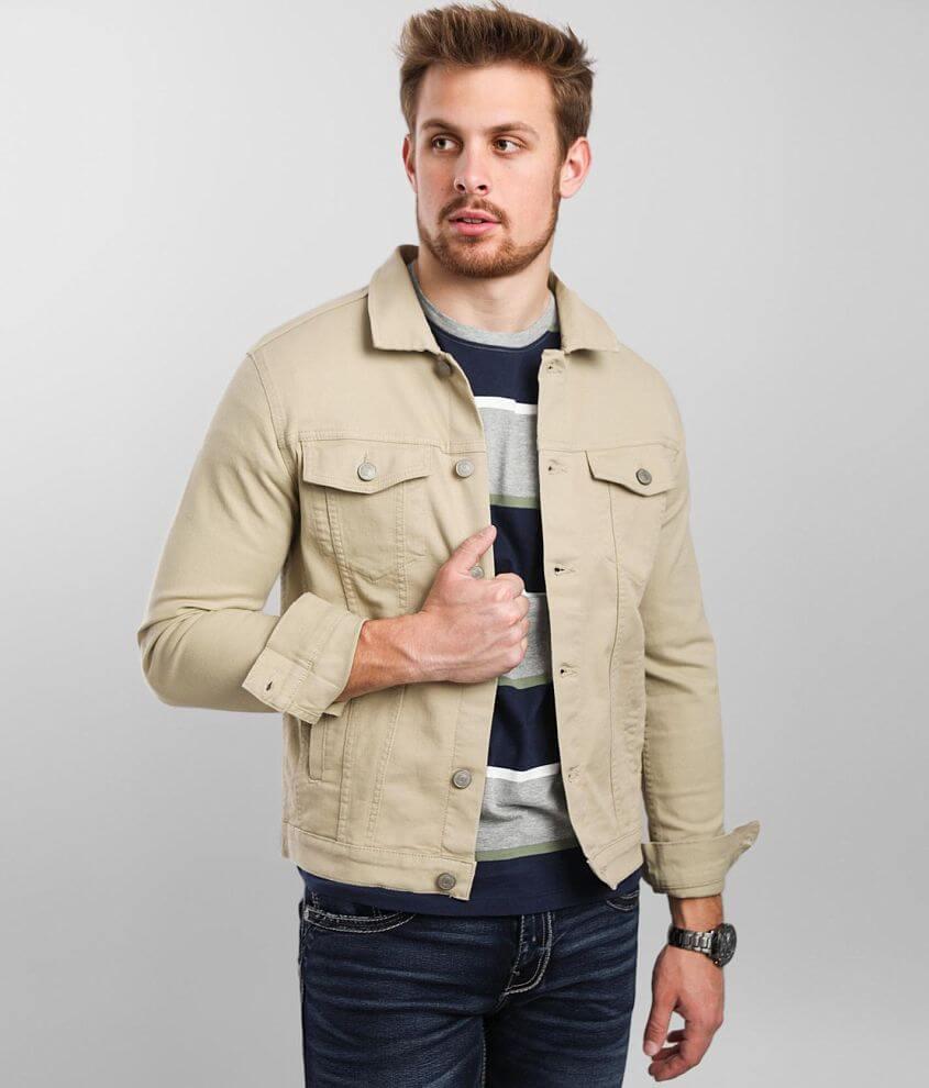 Jack&Jones® Alvin Denim Stretch Jacket front view