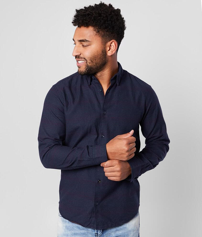 Jack&Jones® Tommy Striped Flannel Shirt front view