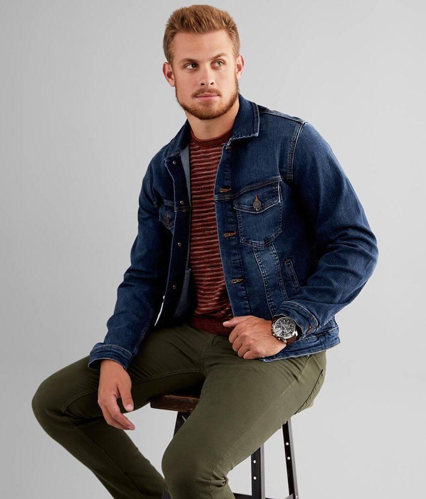 Jack&Jones® Denim Stretch Jacket front view
