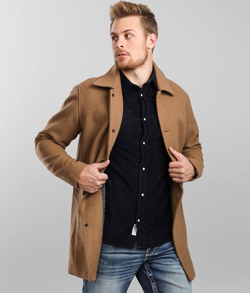 Jack&Jones® Herald Mac Wool Coat front view