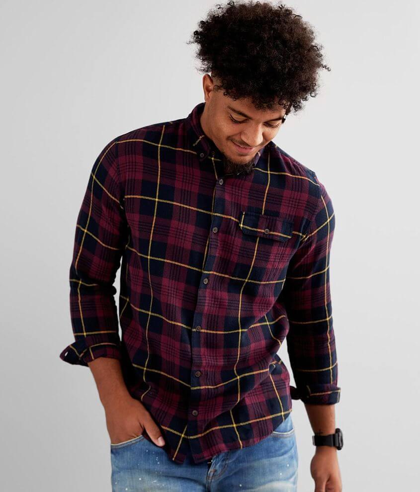 Jack&Jones® Emmerson Plaid Shirt front view