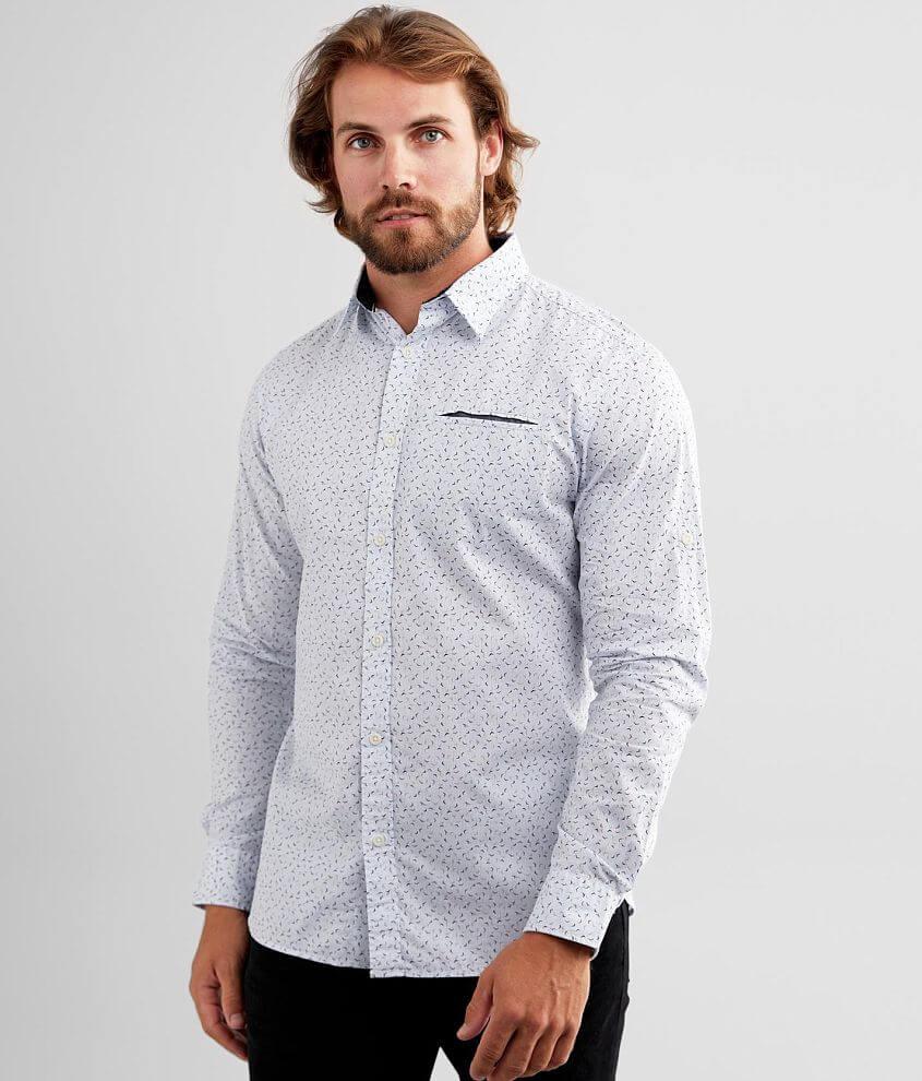 Jack&Jones® Matthew Woven Striped Shirt front view