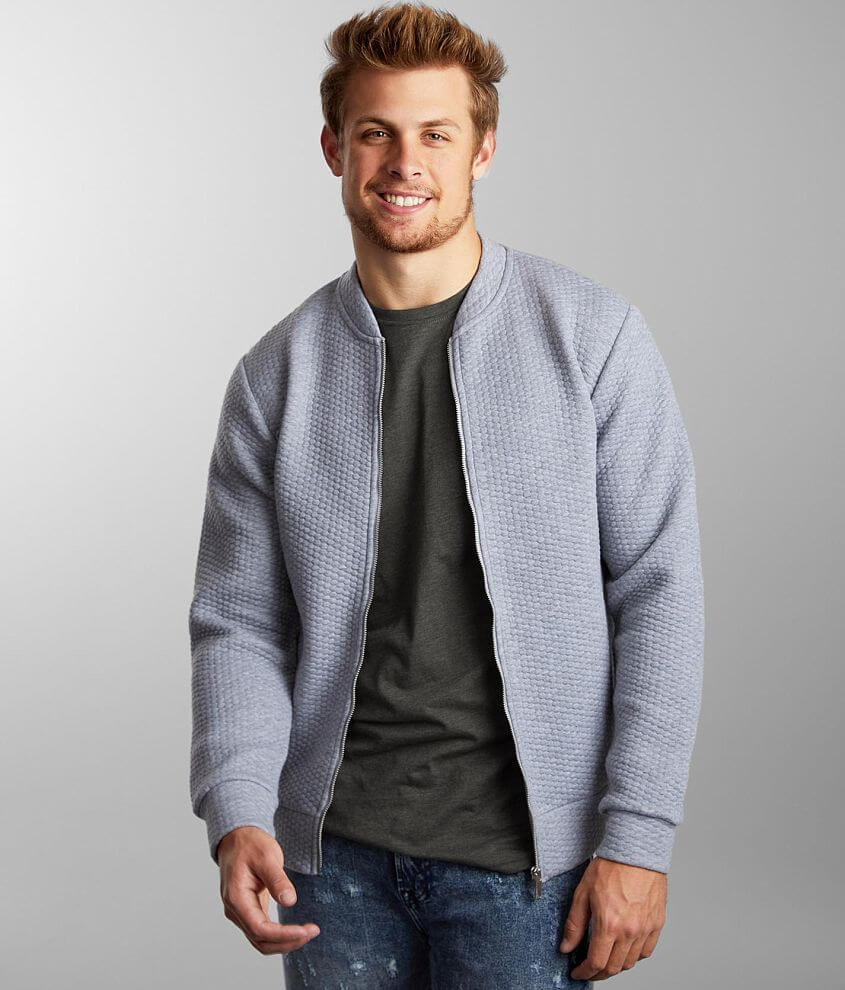 Jack&Jones® Quilted Knit Jacket front view