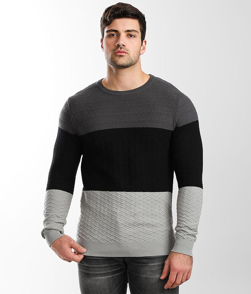 Jack&Jones® Textured Knit Sweater front view