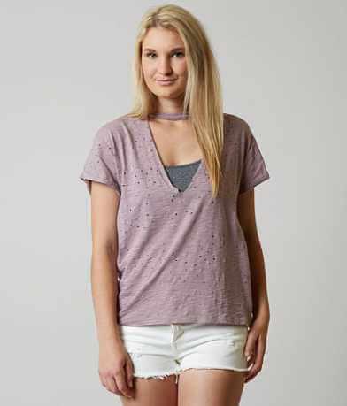 Gilded Intent Deep V T-Shirt