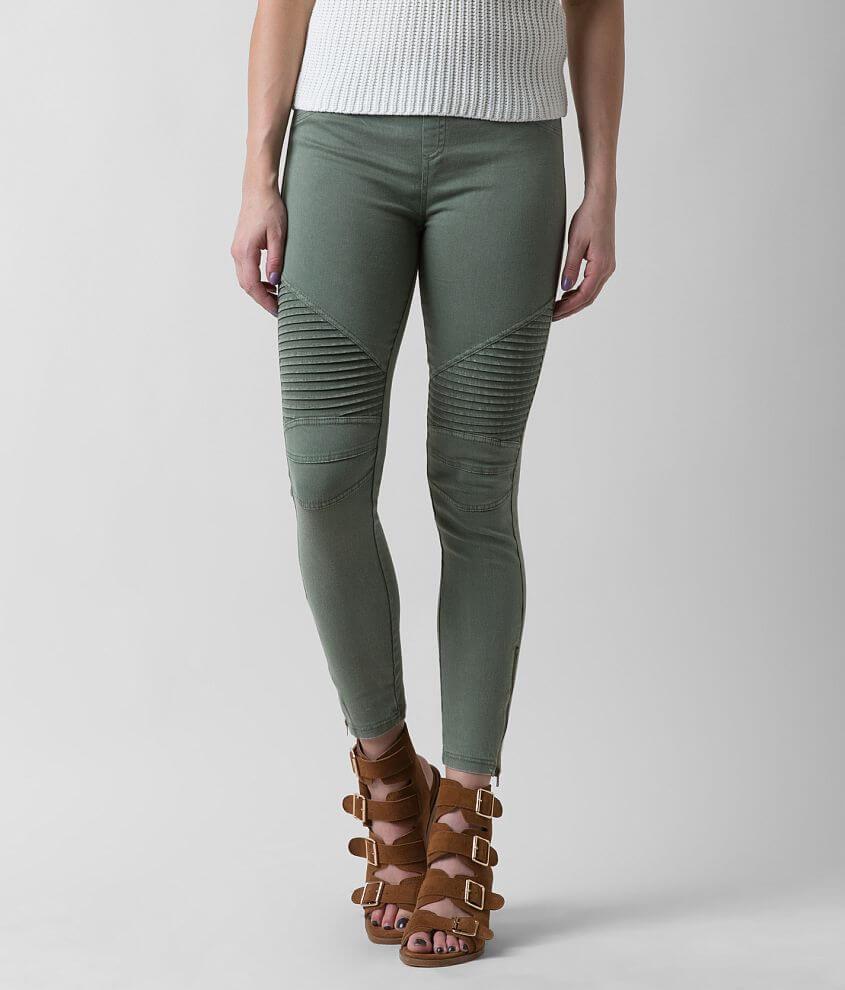 8d8442cabdc Beulah Style Moto Legging - Women s Pants in Olive