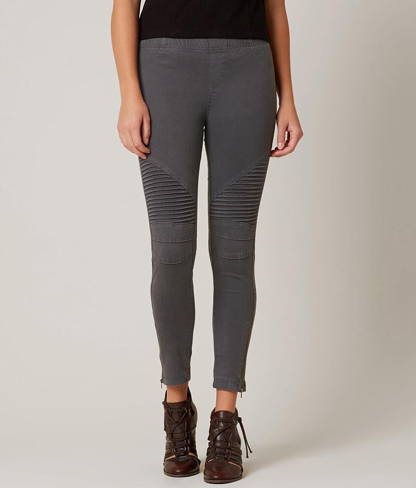 df9a5900f4378 Beulah Style Moto Legging - Women's Pants in Dark Grey | Buckle
