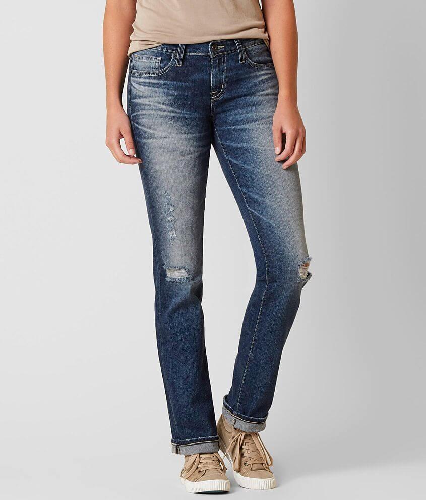 Big Star Vintage Liv Straight Stretch Jean front view
