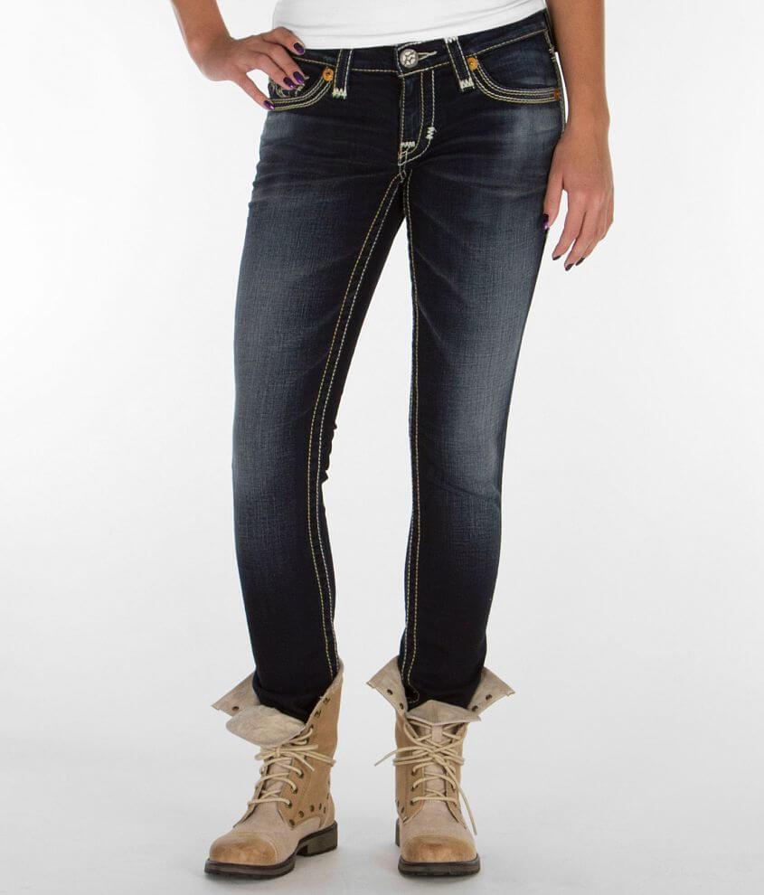 Big Star Vintage Jenae Skinny Stretch Jean front view