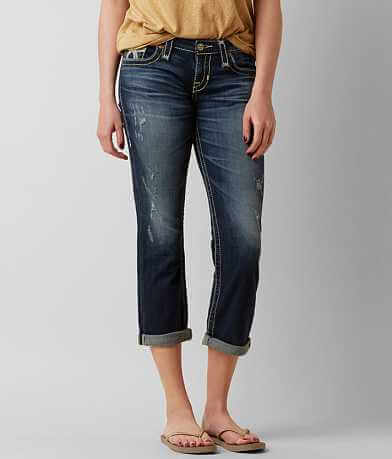 Big Star Vintage Liv Stretch Cropped Jean
