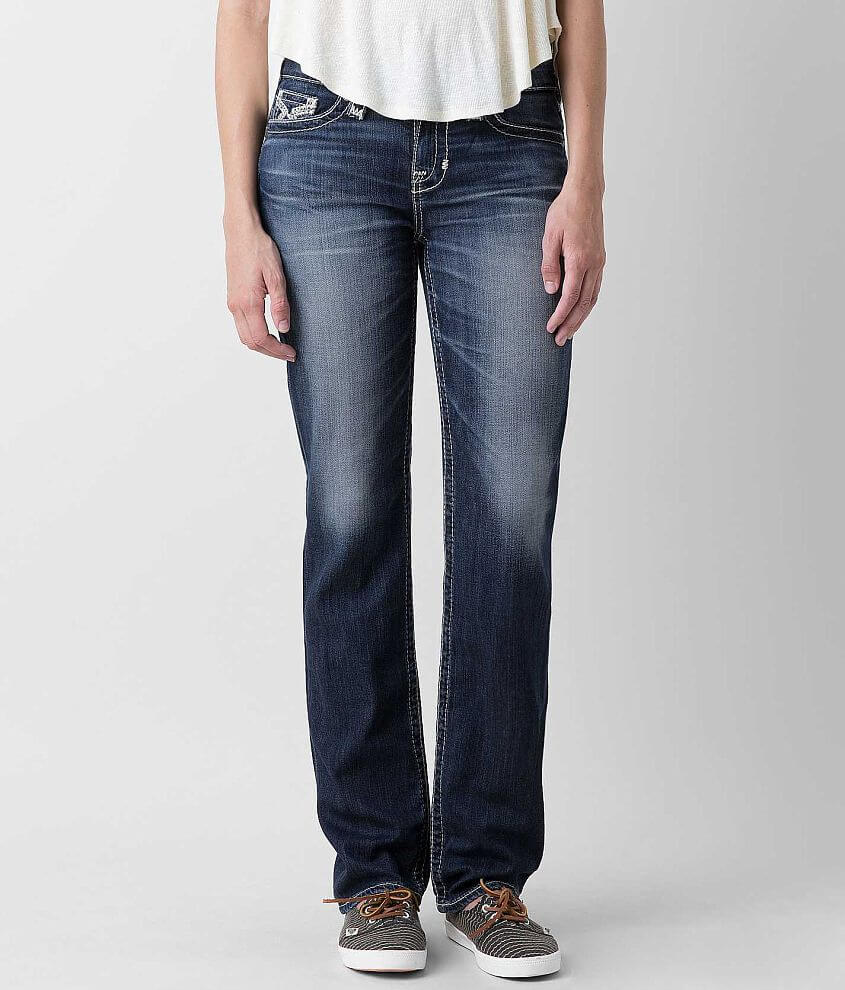 Big Star Vintage Nina Straight Stretch Jean front view