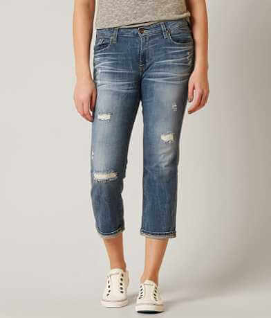 Big Star Vintage Maddie Stretch Cropped Jean