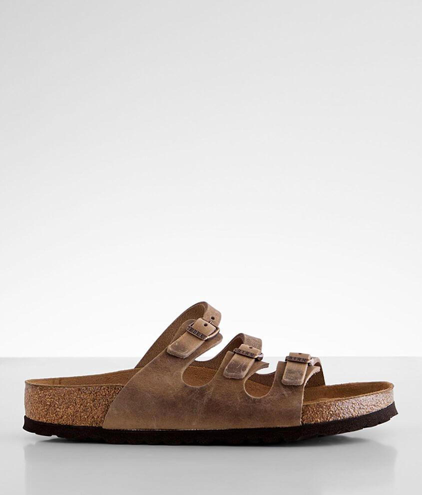 Birkenstock® Florida Leather Sandal front view