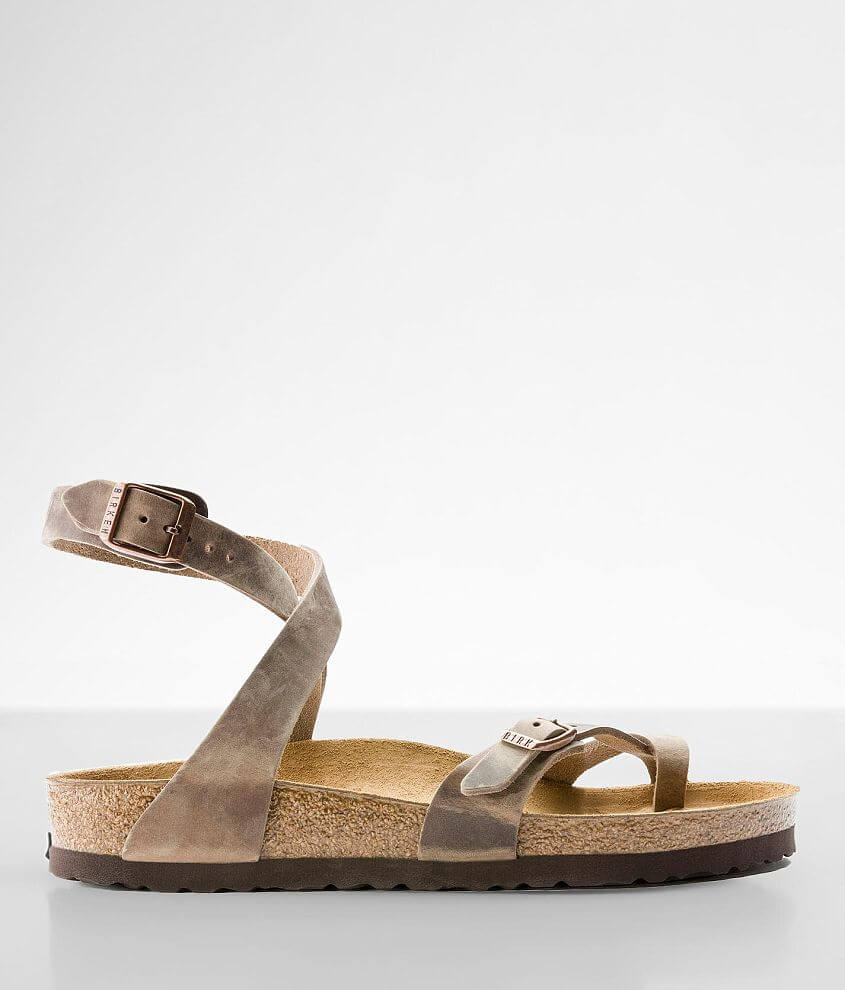 Birkenstock® Yara Oiled Leather Sandal front view