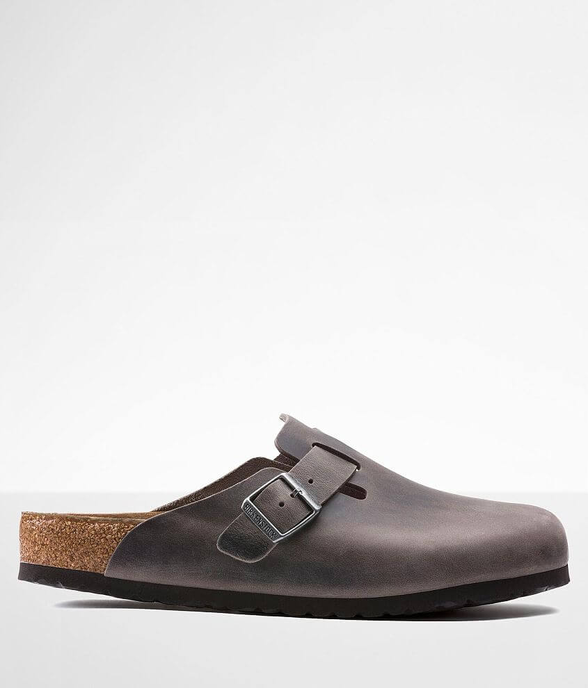 Birkenstock® Boston Soft Leather Clog front view