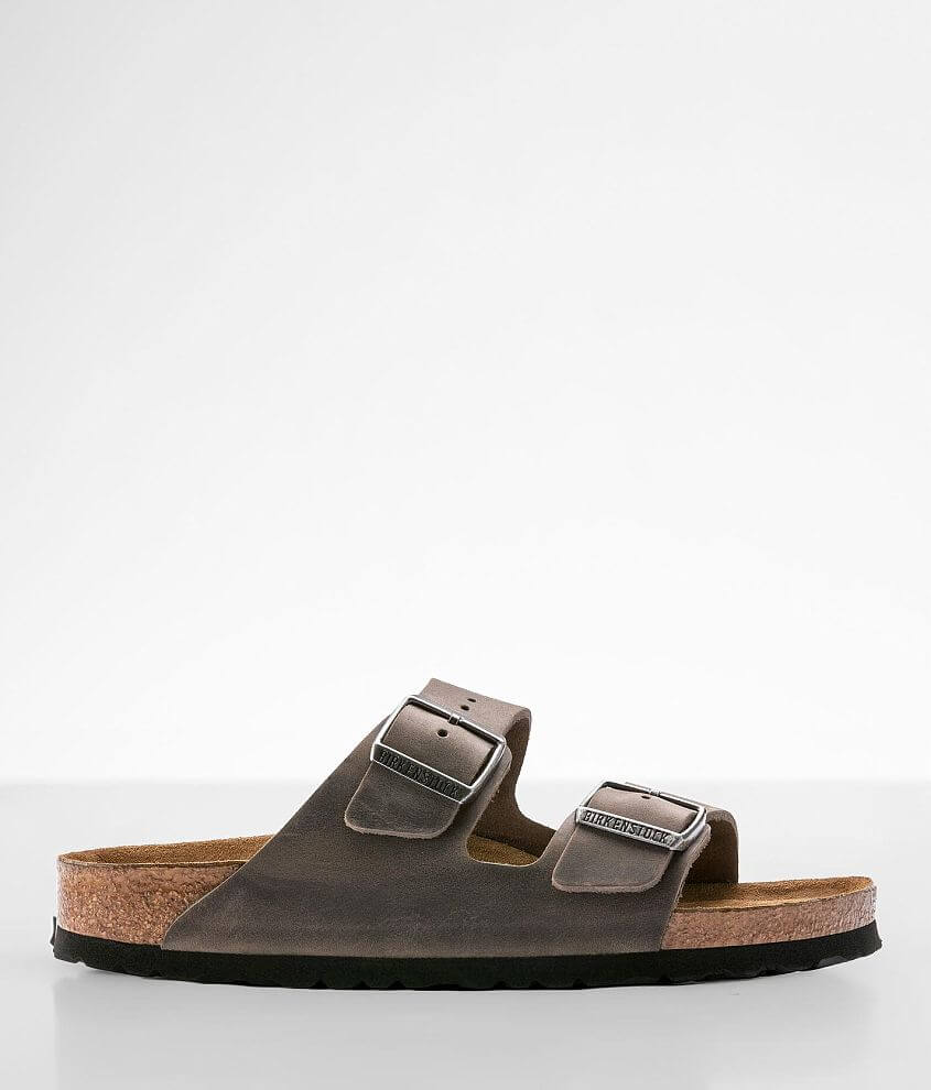 Birkenstock® Arizona Oiled Leather Sandal front view