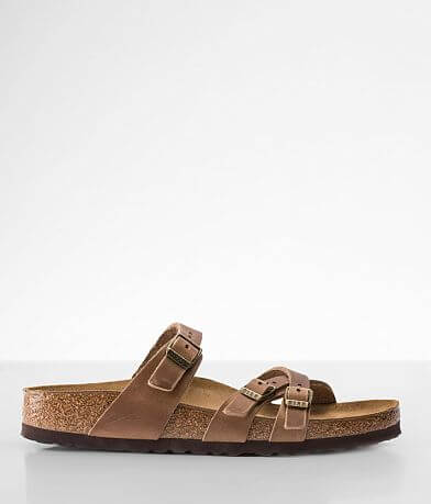 Birkenstock® Franca Oiled Leather Sandal