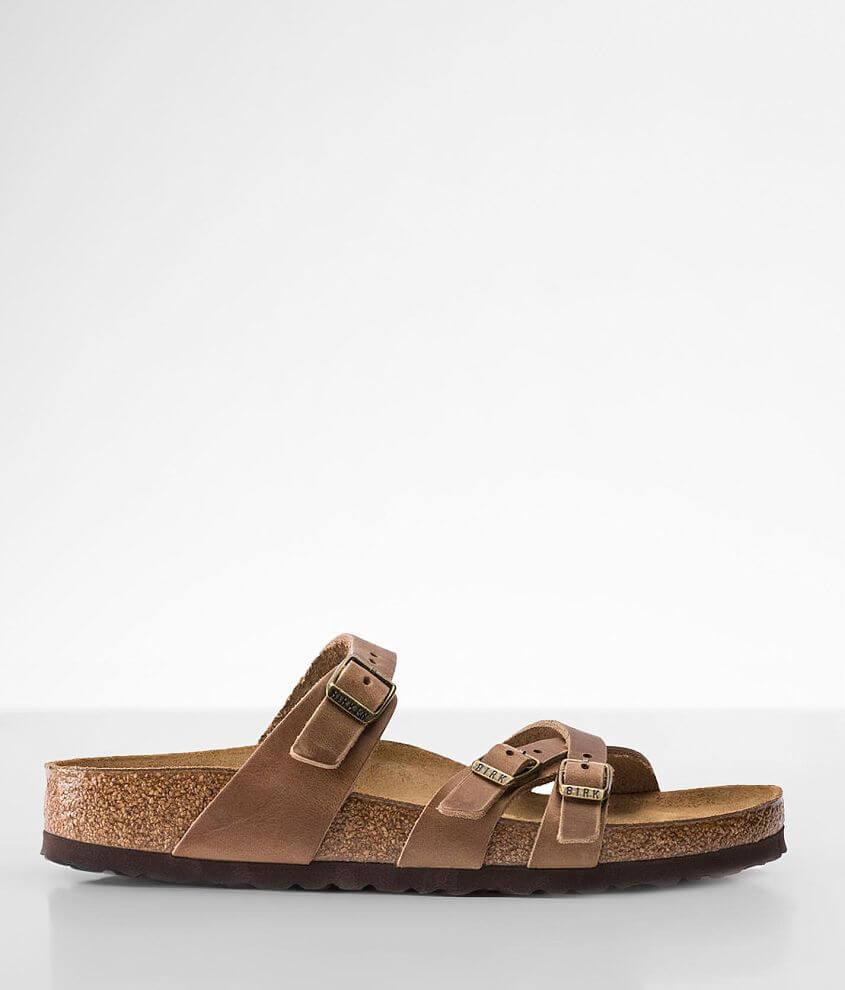 Birkenstock® Franca Oiled Leather Sandal front view