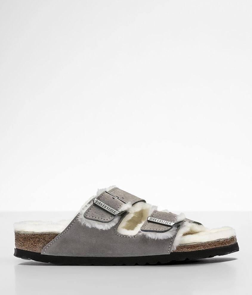 Birkenstock® Arizona Suede Sandal front view
