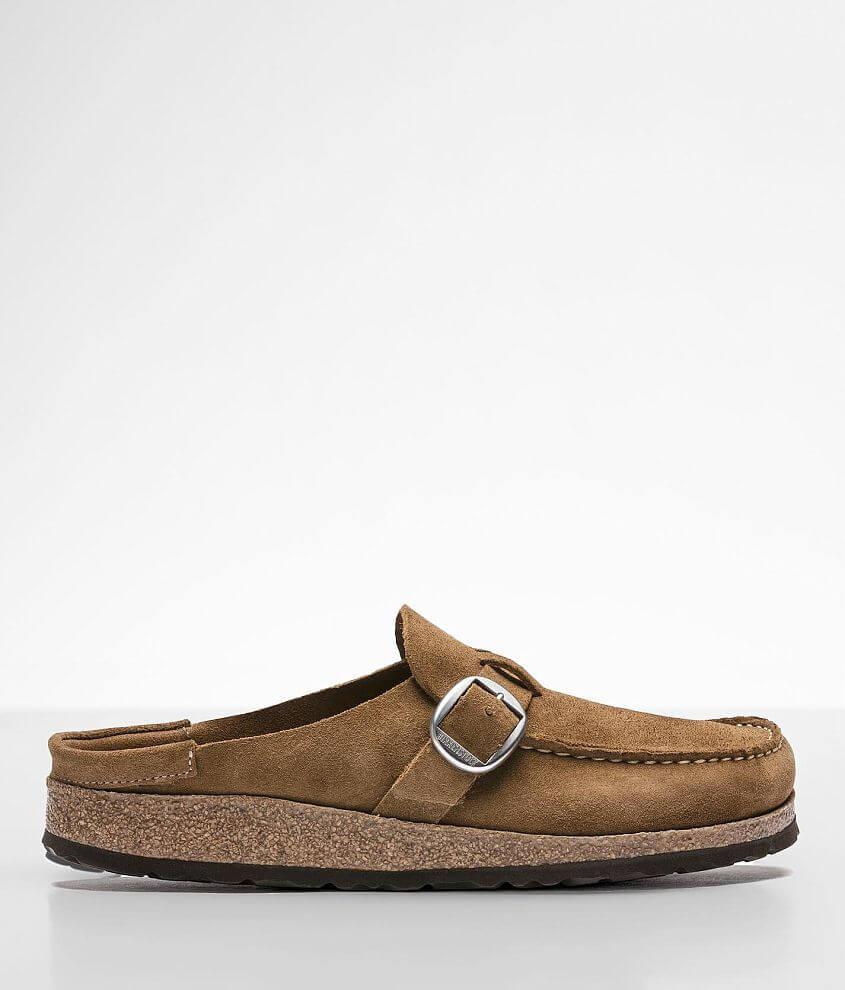 Birkenstock® Buckley Leather Mule Shoe front view